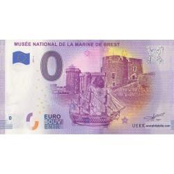 Euro banknote memory - 29 - Musée national de la marine de Brest - 2019-3