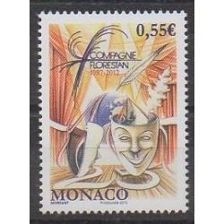 Monaco - 2012 - No 2820 - Masques ou carnaval