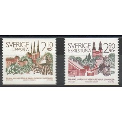 Sweden - 1986- Nb 1379/1380 - Sites