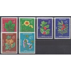 Bulgarie - 1976 - No 2246/2251 - Fleurs