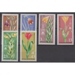 Bulgarie - 1978 - No 2384/2389 - Fleurs