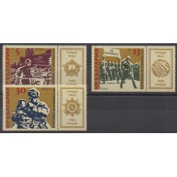 Bulgarie - 1985 - No 2916/2918 - Seconde Guerre Mondiale