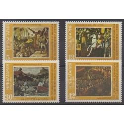 Bulgarie - 1985 - No 2967/2970 - Peinture