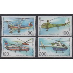 Bulgaria - 1998 - Nb 3783/3786 - Planes - Helicopters