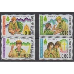 Bulgaria - 1999 - Nb 3854A/3854D - Scouts