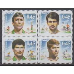 Bulgaria - 2004 - Nb 4018/4021 - Football