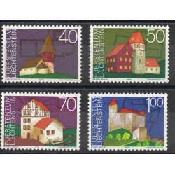 Liechtenstein - 1975- No 573/576 - Monuments