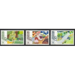 Liechtenstein - 1988- Nb 880/882 - Sites