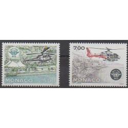 Monaco - 1994 - No 1951/1952 - Hélicoptères