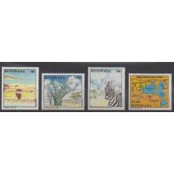 Botswana - 1994 - No 713/716 - Environnement