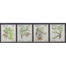 Botswana - 1995 - Nb 733/736 - Flora