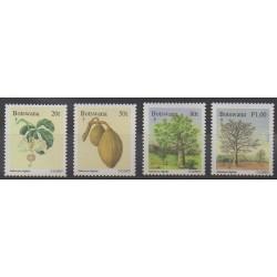 Botswana - 1996 - Nb 756/759 - Trees - Fruits or vegetables