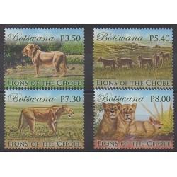 Botswana - 2014 - Nb 1115/1118 - Mamals