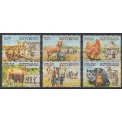 Botswana - 2014 - Nb 1119/1124 - Animals