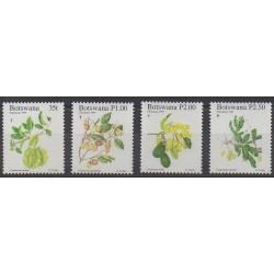 Botswana - 1997 - Nb 800/803 - Flowers