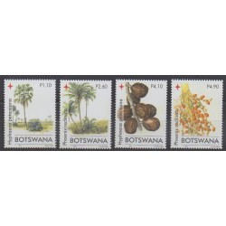 Botswana - 2006 - Nb 965/968 - Trees - Fruits or vegetables