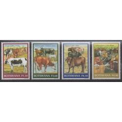Botswana - 2006 - No 957/960 - Mammifères