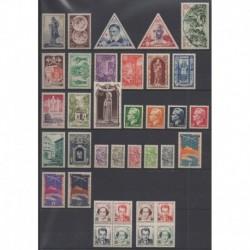 Monaco - Complete year - 1951 - Nb 351/382B