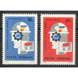 Roumanie - 1969- No 2461/2462 - Europe