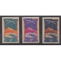 Monaco - 1951 - 376/378 - Télécommunications