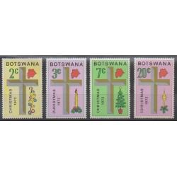 Botswana - 1972 - Nb 244/247 - Christmas