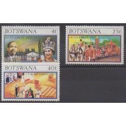 Botswana - 1977 - Nb 331/333 - Royalty