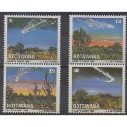 Botswana - 1986 - Nb 528/531 - Astronomy