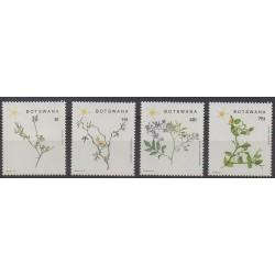 Botswana - 1988 - Nb 595/598 - Flowers