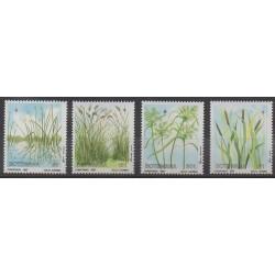 Botswana - 1987 - Nb 571/574 - Flora