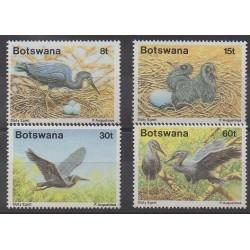 Botswana - 1989 - Nb 603/606 - Birds