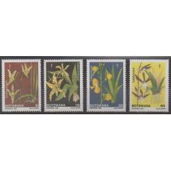 Botswana - 1989 - Nb 611/614 - Flowers