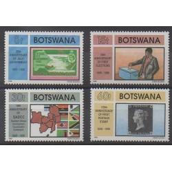 Botswana - 1990 - Nb 615/618 - Various Historics Themes