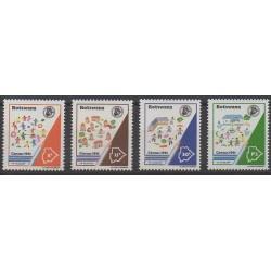 Botswana - 1991 - Nb 641/644