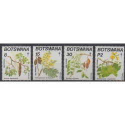 Botswana - 1990 - Nb 630/633 - Trees