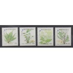Botswana - 1992 - Nb 687/690 - Flora