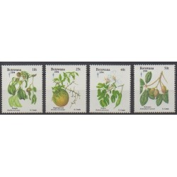 Botswana - 1994 - Nb 721/724 - Fruits or vegetables