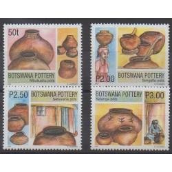 Botswana - 2002 - No 872/875 - Artisanat ou métiers