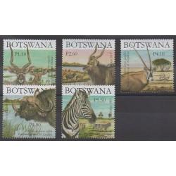 Botswana - 2007 - No 979/983 - Mammifères