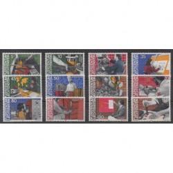 Liechtenstein - 1984 - No 790/801 - Artisanat ou métiers
