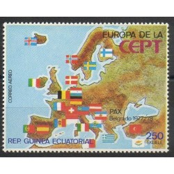 Guinée équatoriale - 1978- No PA 105 - Europe