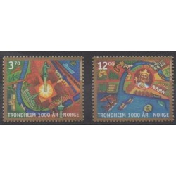Norvège - 1997 - No 1216/1217
