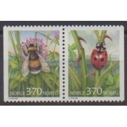 Norvège - 1997 - No 1192/1193 - Insectes