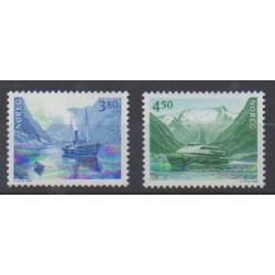 Norvège - 1998 - No 1237/1238 - Navigation