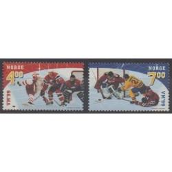 Norvège - 1999 - No 1267/1268 - Sports divers