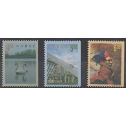 Norvège - 1999 - No 1264/1266 - Tourisme