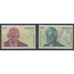 Norvège - 2004 - No 1459/1460 - Célébrités