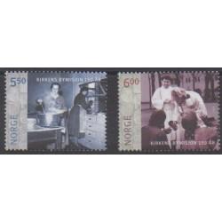 Norvège - 2005 - No 1466/1467 - Religion