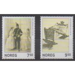 Norvège - 2005 - No 1463/1464 - Peinture