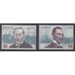 Norvège - 2005 - No 1477/1478 - Célébrités