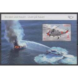 Norvège - 2012 - No BF43 - Hélicoptères - Pompiers